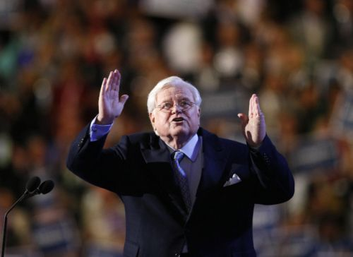 Ted Kennedy at the Democratic Convtention