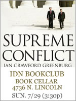 Supreme Conflict by Jan Greenburg
